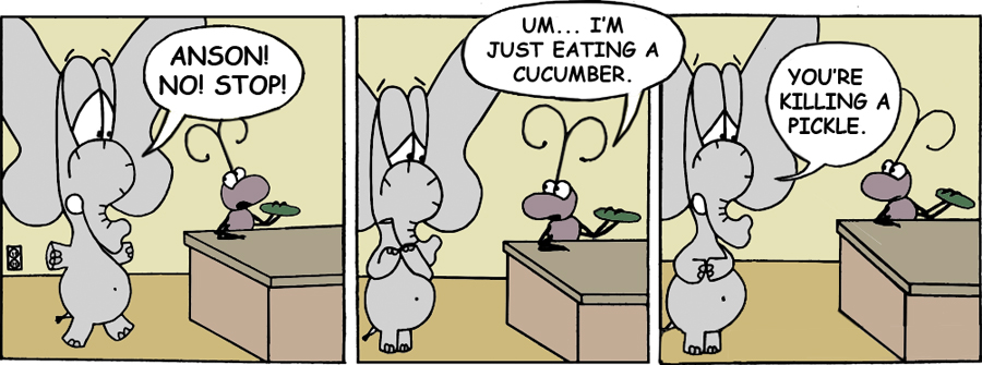 Cruel as a Cucumber